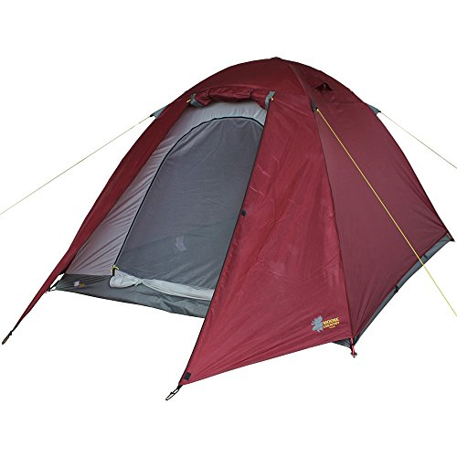 High Peak Outdoors BaseCamp 4 Person 4-Season Expedition-Quality Backpacking Tent by High Peak Outdoors