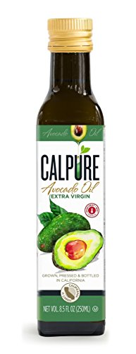 California Avocado Oil - CalPure California Extra Virgin Avocado Oil - First Cold-Pressed, Unrefined, Made in California, 250ml