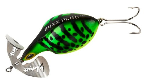 Arbogast Buzz Plug Fishing Lures, Fire Tiger ()