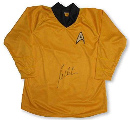 William Shatner Captain Kirk Star Trek Uniform Shirt Signed Certified Authentic JSA COA