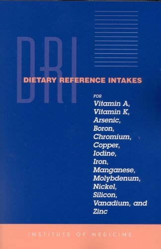 Dietary Reference Intakes for Vitamin A, Vitamin K, Arsenic,