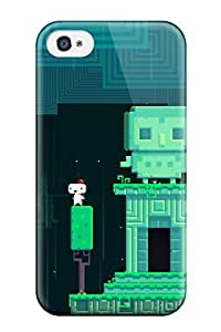 Hot Tpu Cover Case For Iphone/ 4/4s Case Cover Skin - Fez Playstation Game