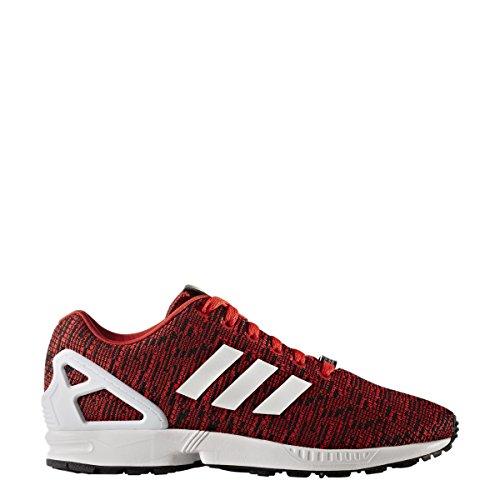 Adidas Originals Mens Zx Flux Grafisch Rood / Kern Zwart / Schoeisel Wit 11,5 Dagen Ons
