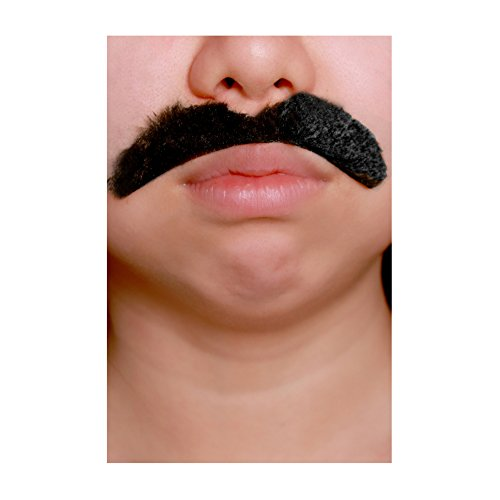 United States of Oh My Gosh Costume Mustache - 6 Styles(!) - #1 Mustache Set (50-Pack, - Hair Facial Styles Black