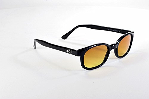 714903a5af X KD Sunglasses Blue Buster Amber Lens Sunglasses Large Size UV400 ...