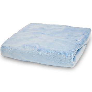 Amazon.com : Sedoso Minky Cambio del cojín de cubierta, Azul ...
