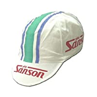Apis Cappellino Ciclismo Team Vintage Sanson Cycling cap HOSTED BY PRO  Line 5803b503a961