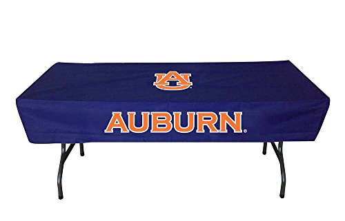 94342d8c3e3 Rivalry Sports Team Logo Design Outdoor Travel Tailgating Auburn 6 Foot  Table Cover
