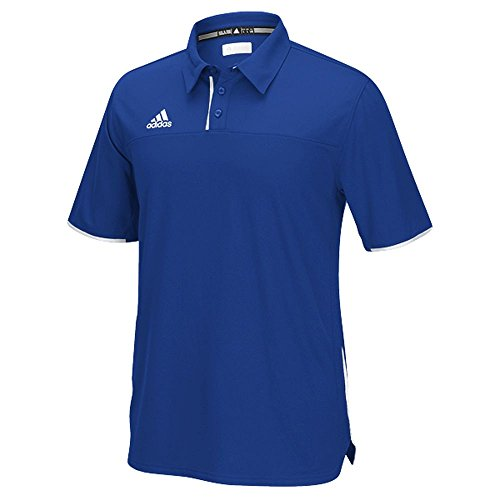 Adidas Heren Climacool Utility Polo Royal-white