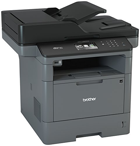 Brother Monochrome Laser Multifunction All-in-One Printer, MFC-L5900DW, Wireless Networking, Mobile Printing & Scanning, Duplex Print, Copy & Scan, Amazon Dash Replenishment Enabled