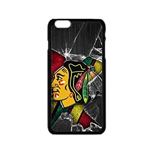 Happy Chicago Blackhawks Cell Phone Case for Iphone 6