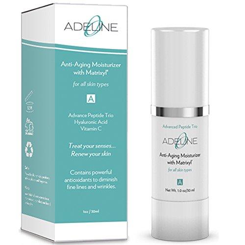 Anti Aging Moisturizer Cream - лучший анти морщин крем - Мгновенный лифт Formula - Все в одном лица увлажняющий с витамином С, 3 различных пептидов и Matrixyl 3000 - Обратный Старение и уменьшить морщины & морщин - Восстановление молодой вид на лицо, глаз