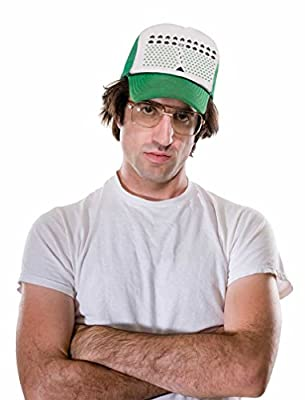 TeeStars - Space Geeky Xmas Invaders Funny Ugly Christmas Trucker Hat Mesh Cap