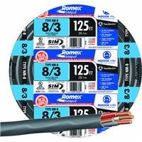 SOUTHWIRE COMPANY #63949202 125' 8/3 W/G NMB Cable