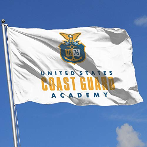 United States Coast Guard Academy 3x5 Foot Flag Outdoor Flags 100% Single-Layer Translucent Polyester 3x5 Ft