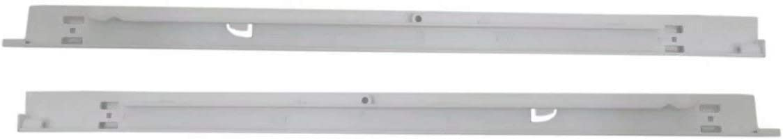 Pan Hangers Compatible with Frigidaire Refrigerator 240530601 (Left) & 240530701 (Right)