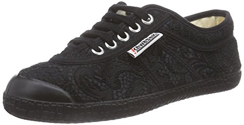 Kawasaki Basic Fantasy - zapatilla deportiva de lona Unisex adulto negro - Schwarz (Black Vanessa)