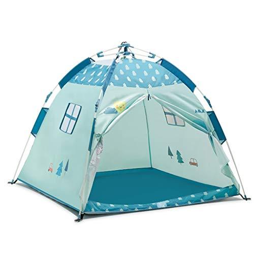 浸漬ために加速度TGG 折り畳みテント、子供のおもちゃの部屋屋内と屋外ベビーキャッスルハウスオーシャンボールプールゲームハウス120 * 120 * 108CM 持ち運びが簡単 (サイズ さいず : 120 * 120 * 108CM)