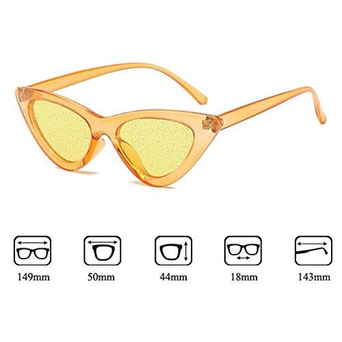 400 De Cristal Lunettes Eye Style Protection Soleil C1 Luisant La Cat Mode Lunettes Rue Élégant UV Lentilles Nouveau Unisexe À Brillant 50w6wX7q