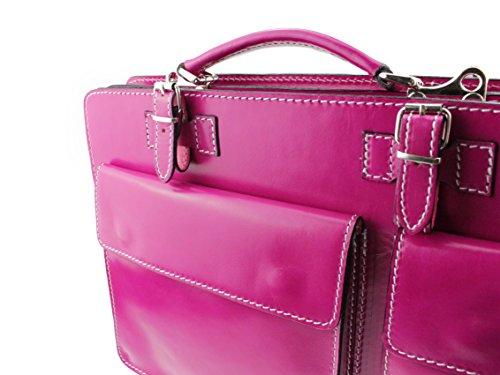 bcdfd0ed00ea0 Aktentasche Lehrertasche Crown in diversen Farben Echtes Leder Made ...