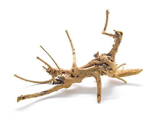- Aquatic Arts 1 Nano Piece of Spider Wood aka Azalea Natural Aquarium Driftwood, 4-6