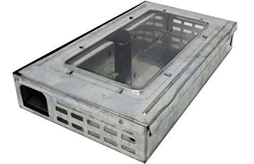 Janico 9202 Multi-Catch Mouse Trap - Humane Repeater Trap with Clear Window (Best Multi Catch Mouse Trap)