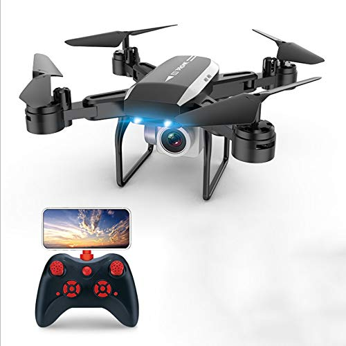 WHWYY WiFi FPV Drone with 1080P HD Camera 40Mins Flight Time Drone with 2 Batteries(20Mins + 20Mins) RC Quadcopter for Beginners with Altitude Hold Headless Mode Gravity Sensor Track Flight