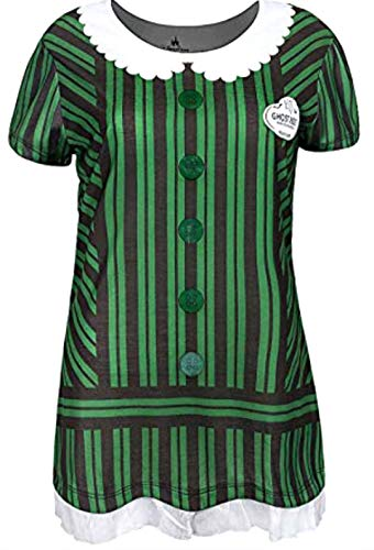 (Disney Haunted Mansion Ghost Host Hostess Costume Shirt Womens (XS))
