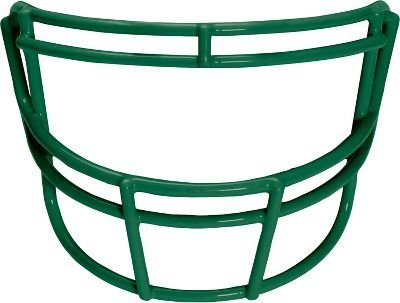 Schutt Sports Super Pro Carbon Steel Varsity ROPO Football Faceguard Dark Green [並行輸入品] B072Z5GZNY