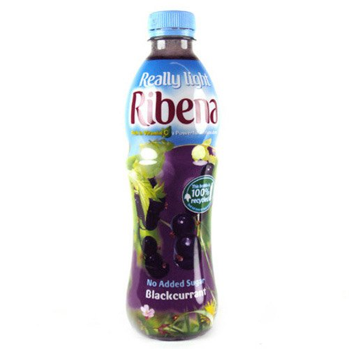 Ribena Blackcurrant Light Bottle 500g