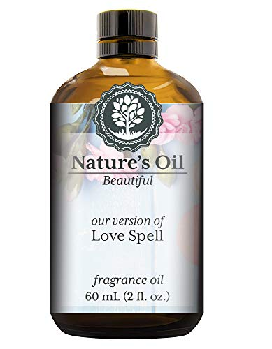 Love Spell Fragrance Oil (60ml) For Perfume, Diffusers, Soap Making, Candles, Lotion, Home Scents, Linen Spray, Bath Bombs, ()