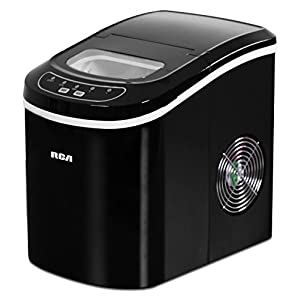 RCA 26 Lbs Counter Top Ice Maker, Black