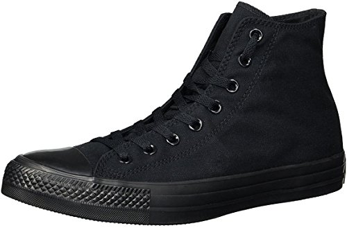 Converse Mens Chuck Taylor All Star High Top, 13 D(M) US, Black Monochrome by Converse (Image #5)