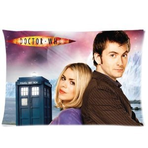 HOT Selling Doctor Who Custom Pillowcase Standard Size 20x30 - Two Sides