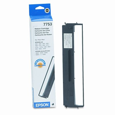 7753 Printer Ribbon, 11 Yield [Set of 2]