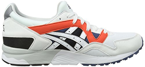 White M US Lyte Shoes V White Asics D 12 Gel wpzqFnYx76