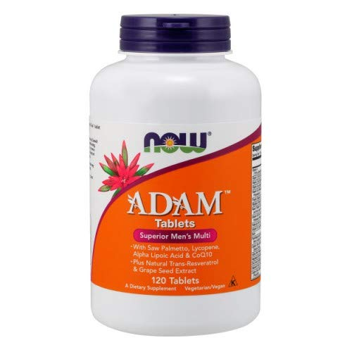 Now Foods ADAM Superior Men s Multiple Vitamin – 120 Tabs 2 Pack
