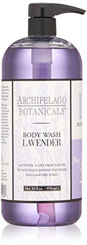 Archipelago Body Wash, Lavender, 33 oz.