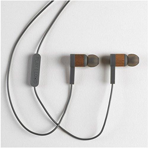 Grain Audio IEHP.01 In Ear Headphones, Brown/Grey