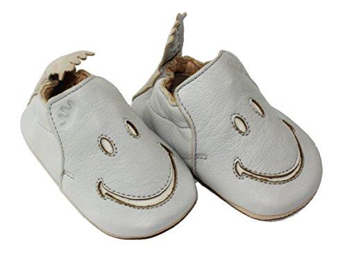 Easy Peasy Smiley Schuhe - BLUBLU inwi-blanc
