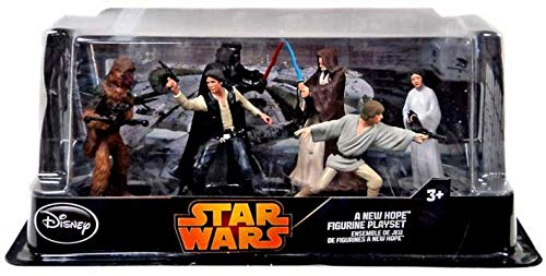 (Disney Star Wars Figurine Collectible Playset (Pack of 6))