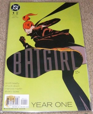 Batgirl Year One #1 (Part One of a Nine Part Limited Series) ebook