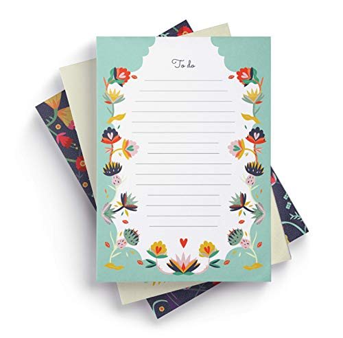 Ceibo Press to Do List Notepads (Set of 3) by Angela ()