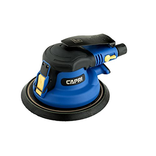 Capri Tools CP32074 Non-Vacuum Random Orbital Palm Sander, 6″ For Sale