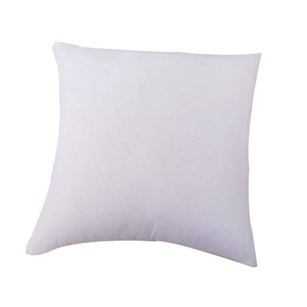 Cratone Pillow Inner Cushion Arm Bolster Sleeping Support Environment PP Cotton Soft and Relax Core for Sofa Car Office 1Piece (55X55cm)