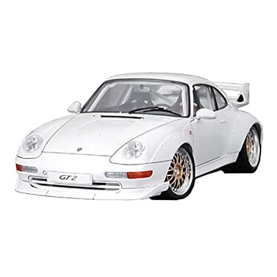 Tamiya 24247 Model Car Porsche GT2 at 1:24 Scale,White: Toys & Games