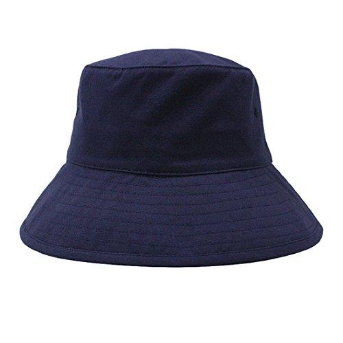 Pêcheur Homme Chapeau Soleil Pliable Bob De Marine Seau Voyage Bleu Femme Plage Acvip Coton tdqwC8t