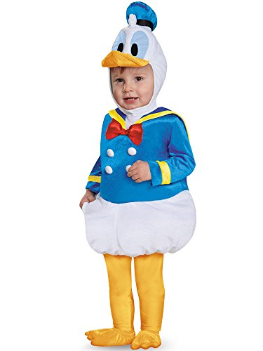 Disney Disguise Baby Boys' Donald Duck Prestige Infant Costume, Blue, 6-12 -