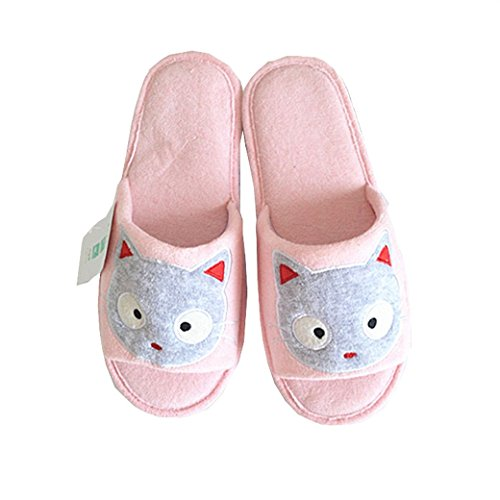 Euro Sky Black Cat Antislip Waterproof Indoor Slippers Huishoud Schoenen Cat