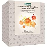 Dilmah Vivid Springtime Oolong with Ginger Loose Leaf Refill Box, 100 Grams